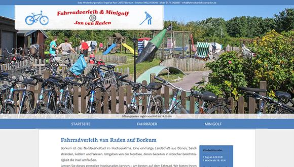 Fahrradverleih van Raden