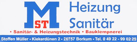 Müller - Sponsor TuS Borkum e.V.