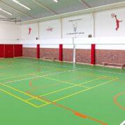 Kleine Sporthalle des TuS nach der Renovierung