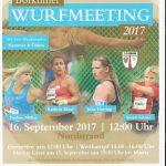 Borkumer Wurfmeeting 2017