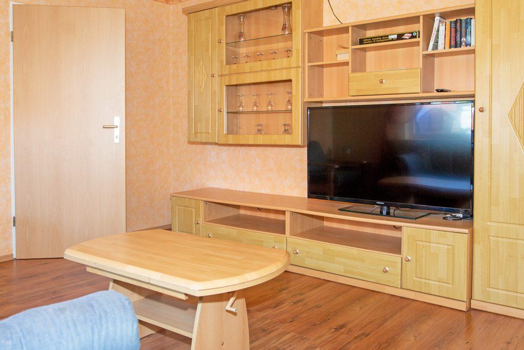 Ferienwohnung Mitten Drinn Wohnzimmer