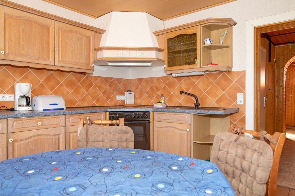 Ferienwohnung Mitten Drinn Küche