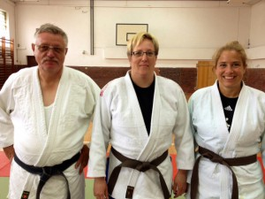 Alfred van Hettinga, Stephanie Schulz-Krupp und Dominique Plewe