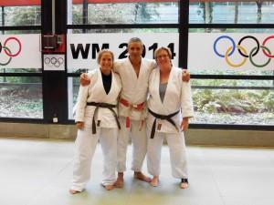 Judofestival 2013: Zusammen mit Olympiasieger Frank Wieneke