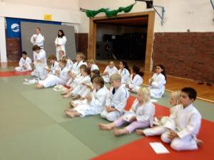 Borkumer Judo-Nachwuchs